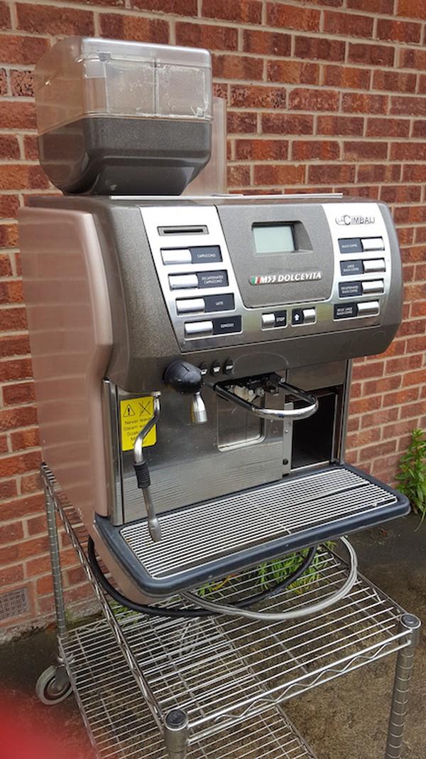 La Cimbali M53 Dolcevita Coffee Machine and 2x Milk Coolers