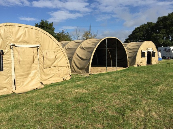 Military Shelter 26 x 20 x 10ft Army Tent Marquee Storage MOD Workshop 8 x 6 x 3m