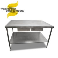 1.5m Stainless Steel Bench (Ref:SS141)