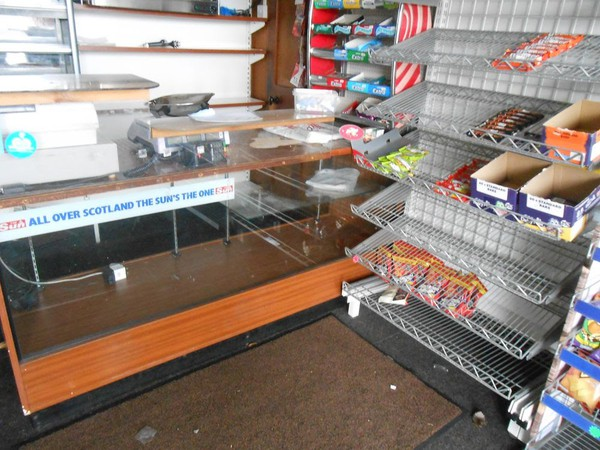 Newsagent Shop Fittings / Equipment