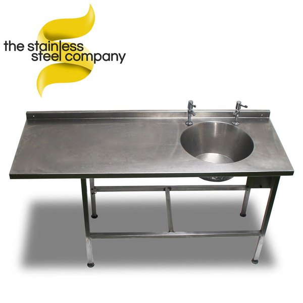 1.6m Stainless Steel Sink (Ref:SS26)