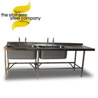 2.4m Stainless Steel Sink (Ref:SS29)