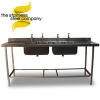 2m Stainless Steel Sink (Ref:SS30)