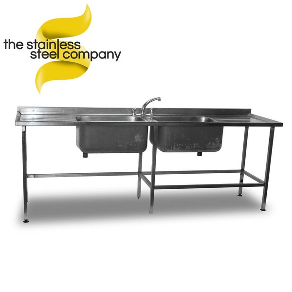 2.4m Stainless Steel Sink (Ref:SS31)