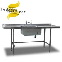 1.85m Stainless Steel Sink (Ref:SS33)