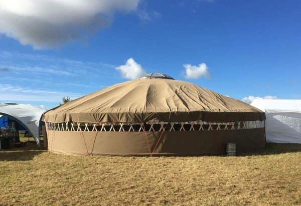 40ft YURT Custom Made