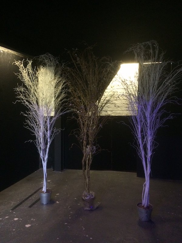 5x Tall Artificial Decorative Trees