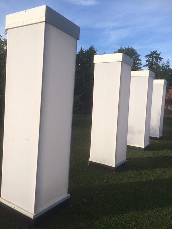 Imposing Light Columns