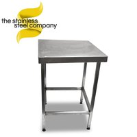 0.6m Stainless steel bench (Ref:SS132)