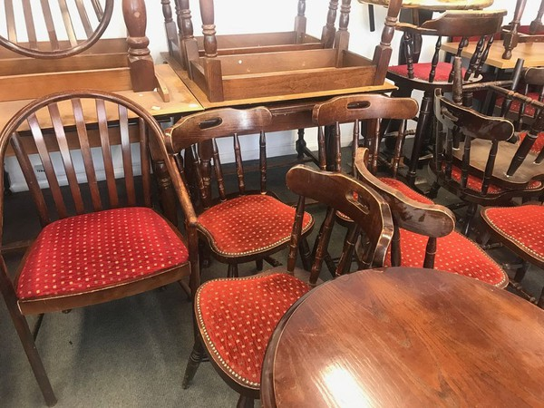 Country Style Pub Tables and Chairs