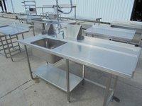 Stainless Steel Single Dishwasher Sink (5342)
