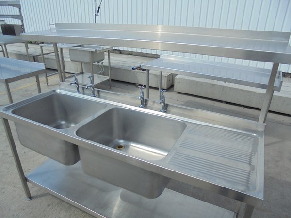 Stainless Steel Double Sink	(5343)