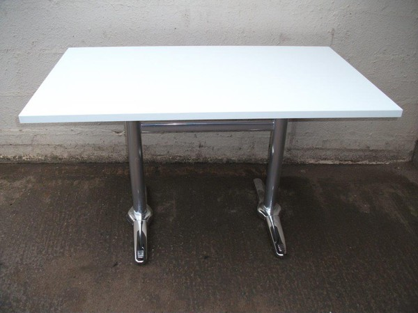 3x White Dining Tables (Code 1267A)