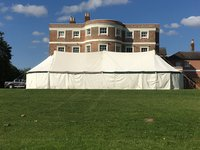Traditional canvas marquee for sale