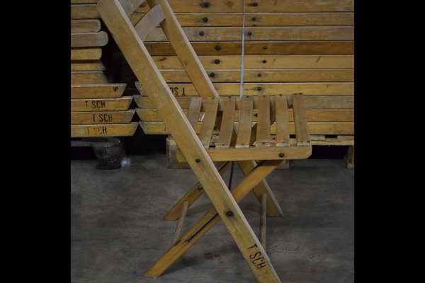 Vintage Wooden Folding Chairs