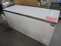 New Polar Stainless Steel Chest Freezer