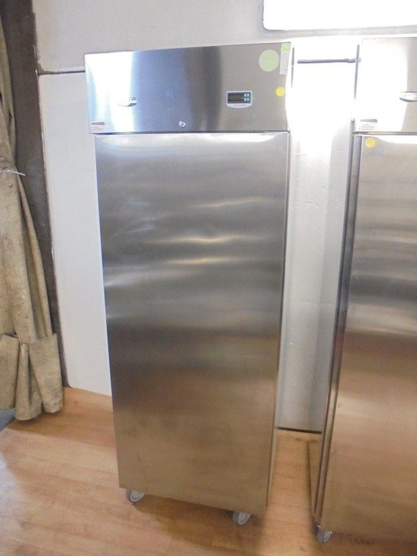 Stainless Steel Electrolux Upright Fridge