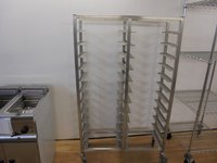 Stainless Steel Double Clearing Trolley