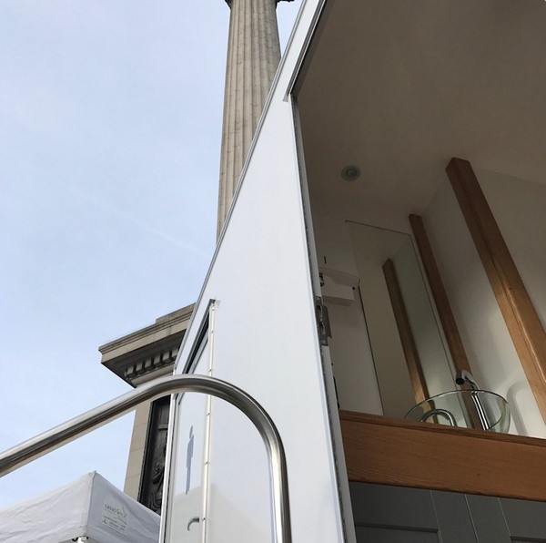 Brand New Super Compact 1 Plus 1 Luxury Toilet Trailers