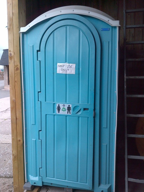 Ex-Hire Portable Site Toilet