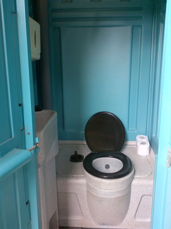 Ex-Hire Portable Site Toilet