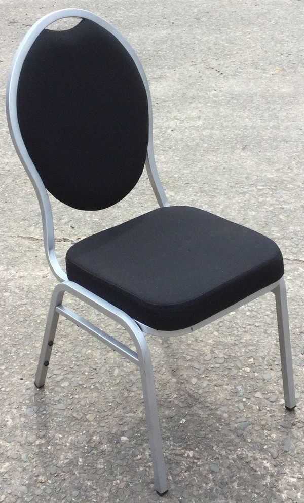 Black Stacker Chairs
