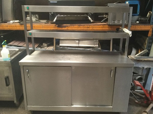 Hot Cupboard Pass Through with Double Heated Gantry