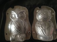 Owl Chocolate Polycarbonate Moulds