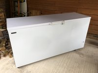 Tefcold GM600 - Solid Lid White Chest Freezer