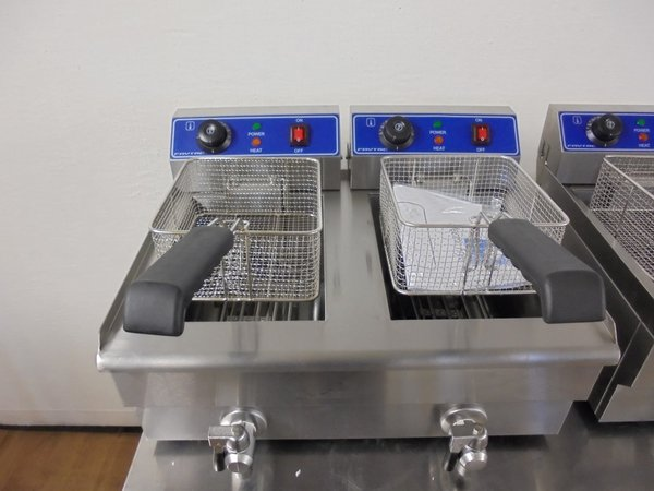 New Frytac Electric Table Top Double Fryer