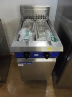 Blueseal Electric Double Free Standing Fryer