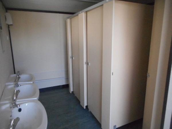 32' x 10' Anti Vandal 4 + 3 Toilet Block Professional Conversion
