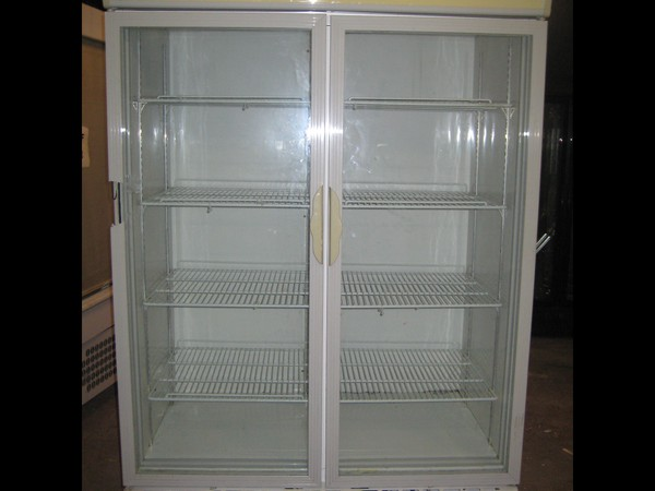 Double Hinged Door Display Chiller