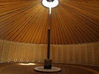 30ft Mongolian Yurt With Fire