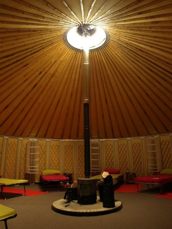 30ft Mongolian Yurt With Fire