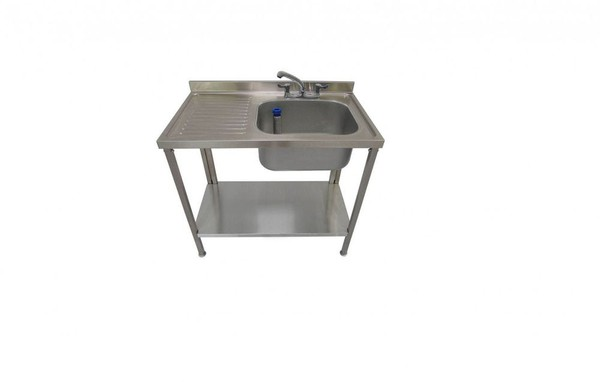 Ex Display 1000x600x900 Single Bowl Commercial Sink *Brand New*