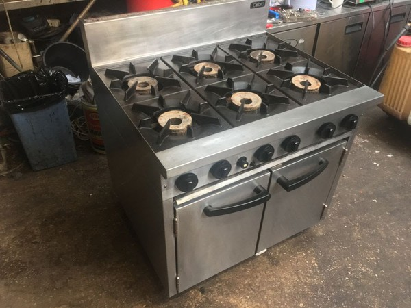 Blue Seal Cobra 6 Burner Oven Range