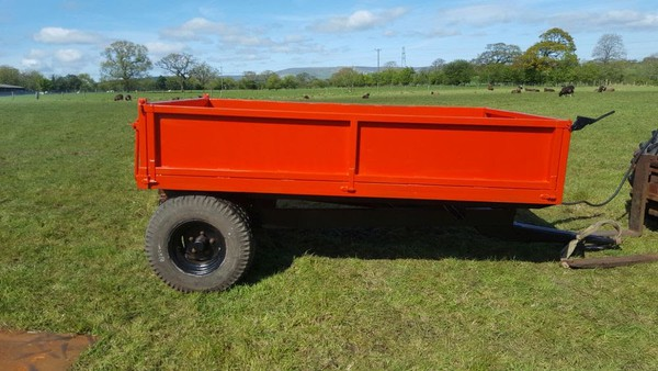 3-4 Tonne Drop Side Farm Tipper Trailer