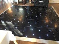 Grumpy Joes 20ft x 20ft Black Starlight Dance Floor