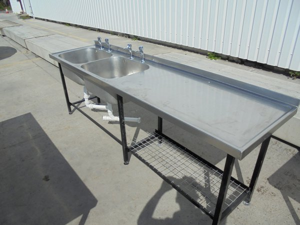 Stainless Steel Double Sink (5430)