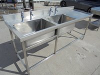 Stainless Steel Double Sink (5433)