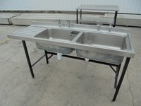 Stainless Steel Double Sink (5443)