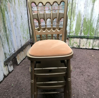 Gold Cheltenham Chairs With Gold Seat Pads