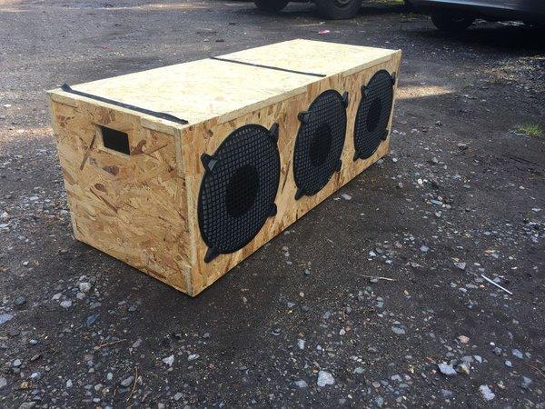 Speaker Box Seating Prop