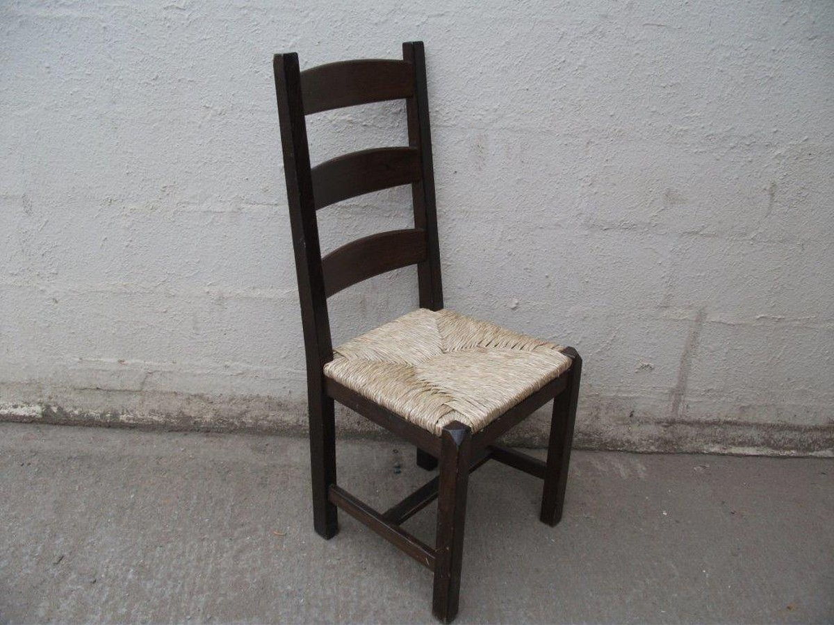 Ordinaire Ladder Back Chairs