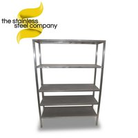 1.19m Stainless Shelving Unit (SS213)