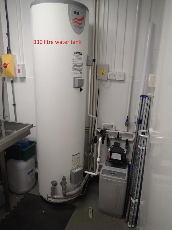 330ltr water tank
