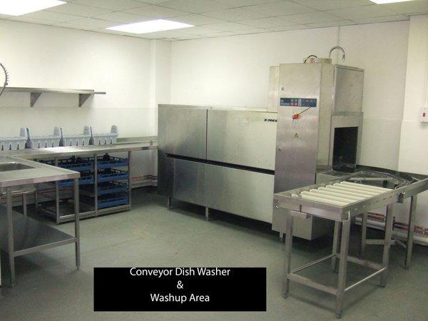 Meiko K200 VAP Pass Through Conveyor Dish Washer