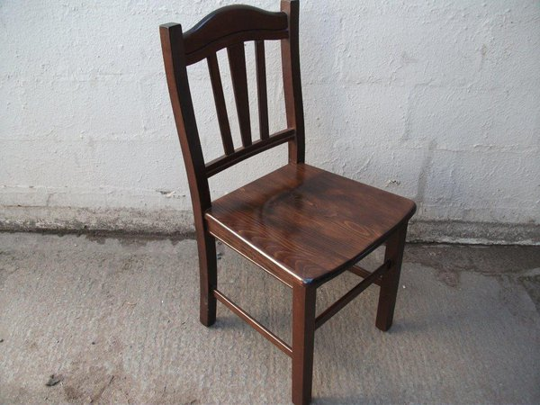 70 x Wooden Dining/Pub/ Restaurant Chairs (Code DC 754A)