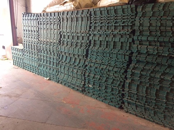 342 Square Meters of Eco Trackway Interlocking Plastic Event Flooring